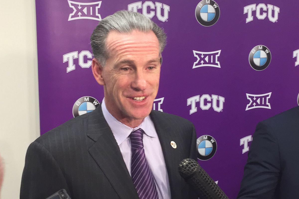 TCU head basketball coach Jamie Dixon