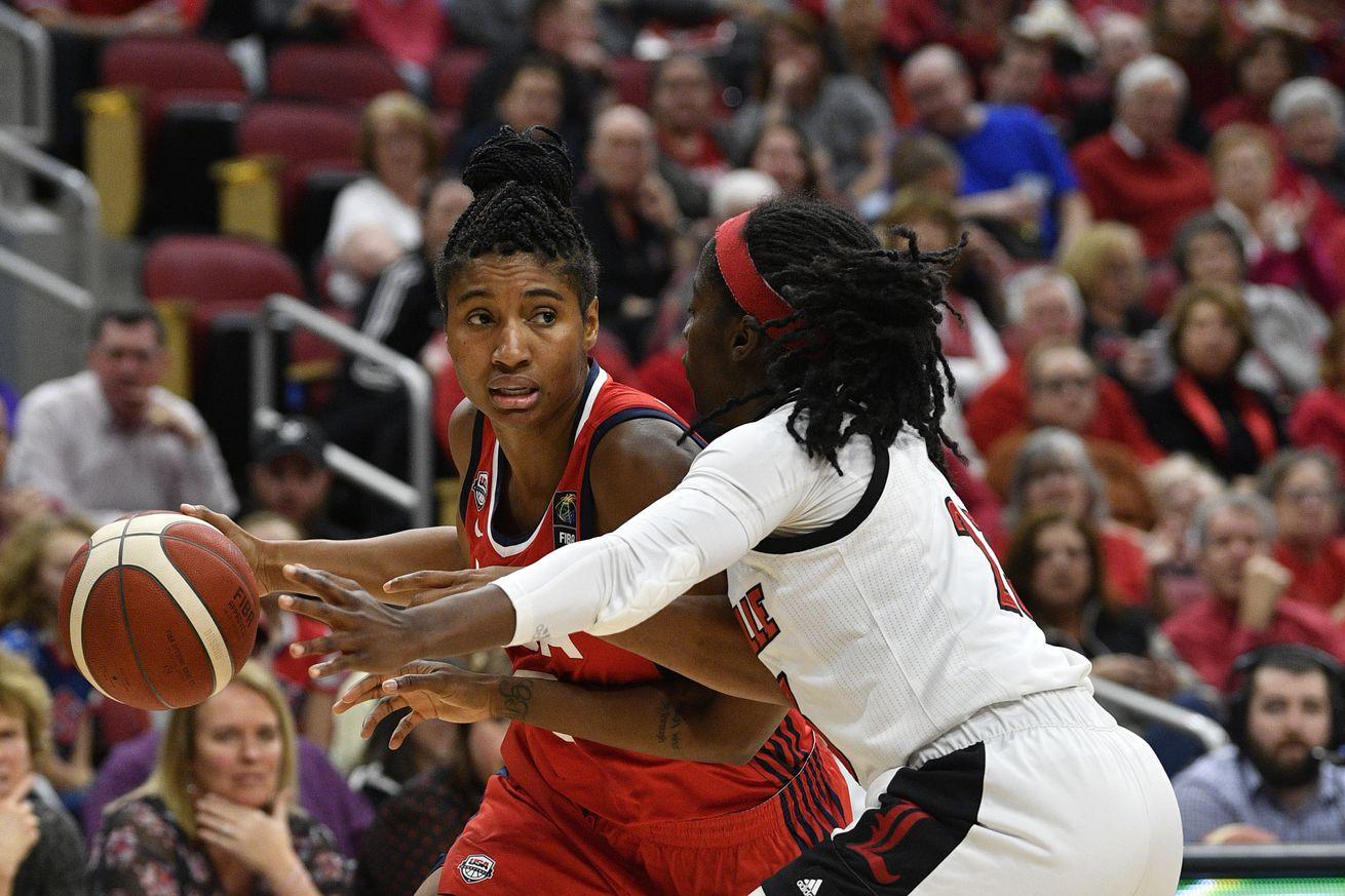 NCAA Basketball: TEAM USA vs Louisville