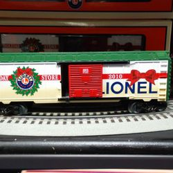 The limited-edition Holiday Store boxcar is $55.