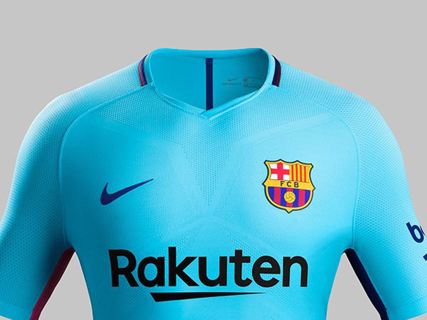 Barcelona Unveil Official 2017 18 Away Kit Barca Blaugranes