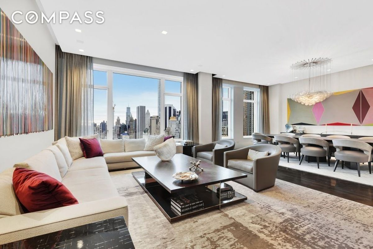 15 Central Park West Condo With A Modern Revamp Wants 235m Curbed Ny