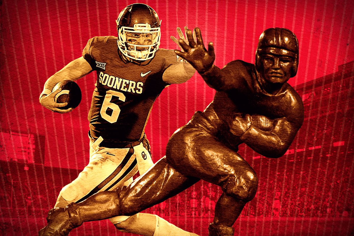best sneakers 7aa49 67ab1 Baker Mayfield's Heisman Trophy Campaign Is for the Haters ...