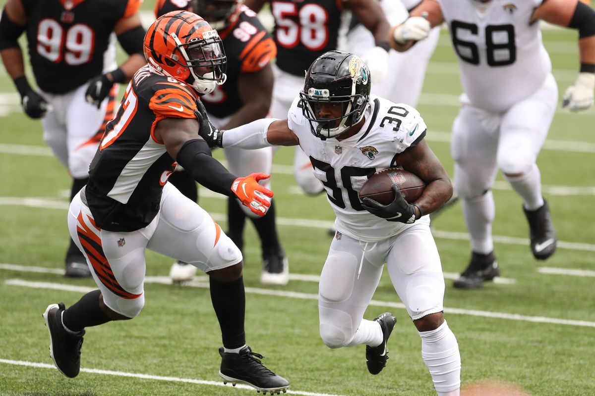 Jacksonville Jaguars RB James Robinson nominated for Pepsi Zero Sugar  Rookie of the Week - Big Cat Country