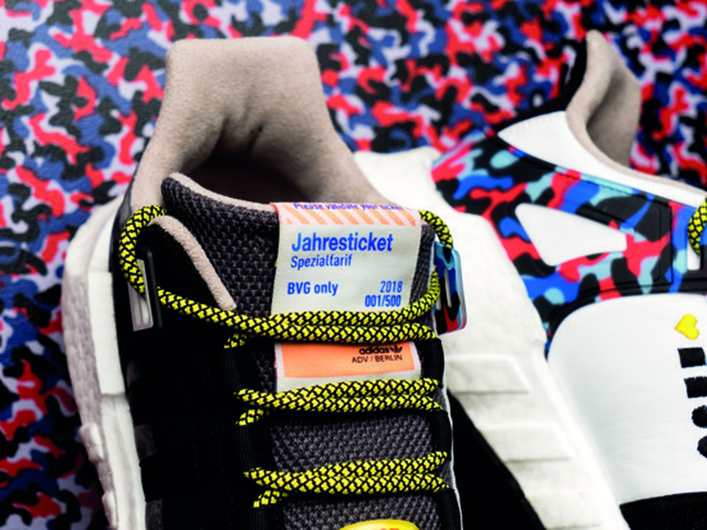 Berlin's transport authority and Adidas release a pair of
