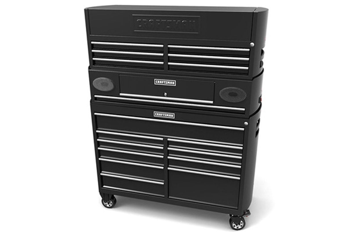 Craftsman puts 220W speakers and Bluetooth in your tool chest ...