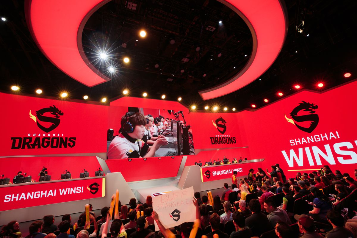The Shanghai Dragons Go Winless In The First Overwatch League Season Heroes Never Die