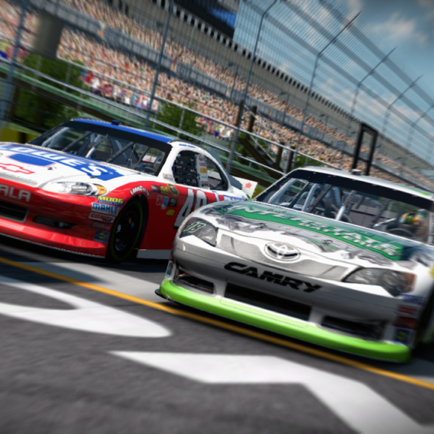 Nascar The Game Inside Line Review Sb Nation Atlanta