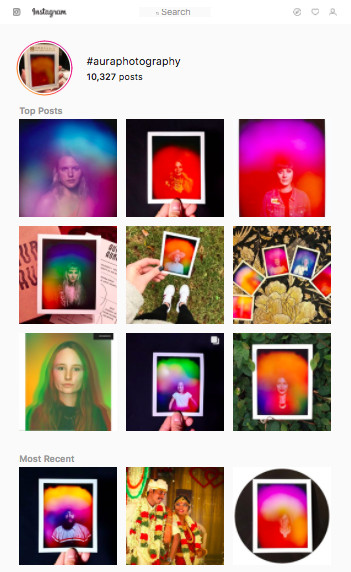 How Aura Photography Invaded Instagram - The Ringer