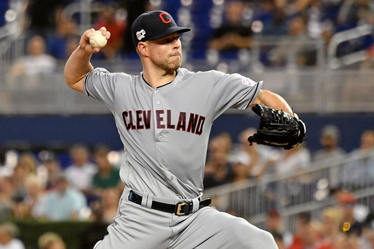 fe398f11e24 MLB trade rumors and news  Indians  Corey Kluber suffers fractured arm  following line drive