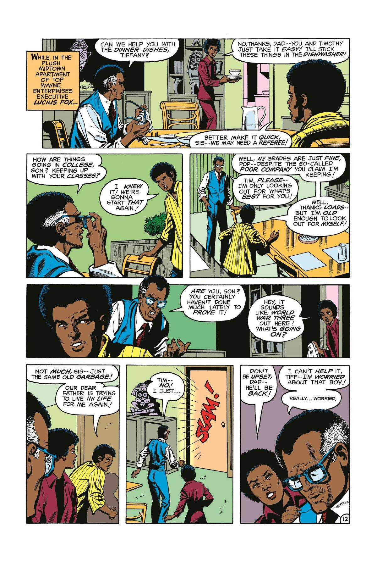 Tim Fox first appearance in Batman#313, April 10, 1979
