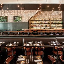 """And that brings us full circle…to dinner at <a href=""""http://www.thesquaresf.com""""><strong>The Square</strong></a>. The Eater editors can't get enough of The Square's creative twists on classics. Try the full rack of baby back ribs with polenta. In you stil"""