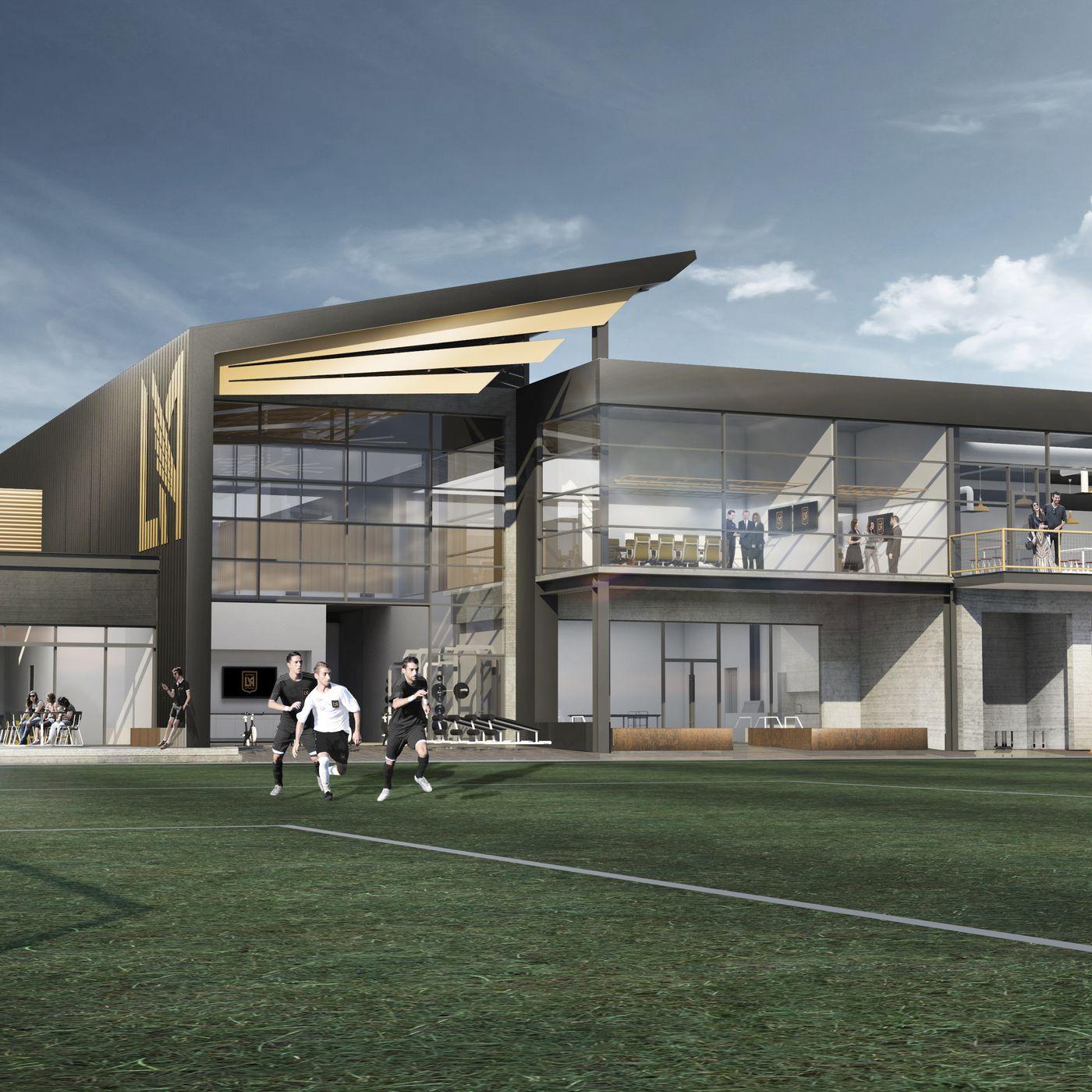 LAFC open permanent training facility at Cal State LA