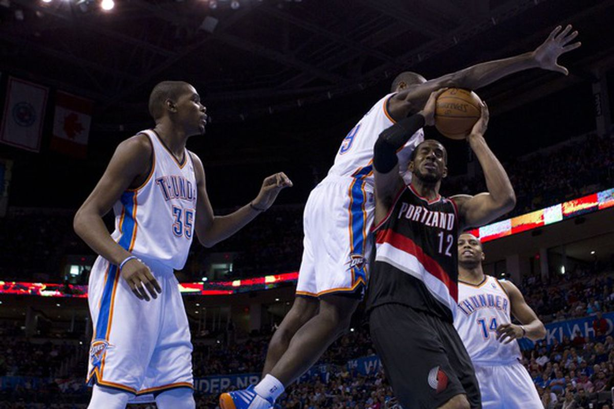 Hopefully Ibaka won't get faked out this time....