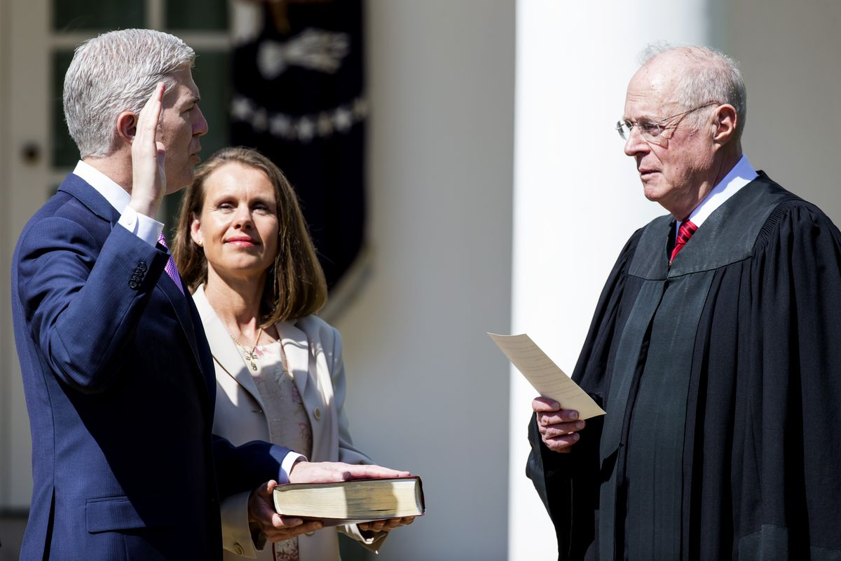 Neil Gorsuch Is Sworn In As Associate Justice To Supreme Court