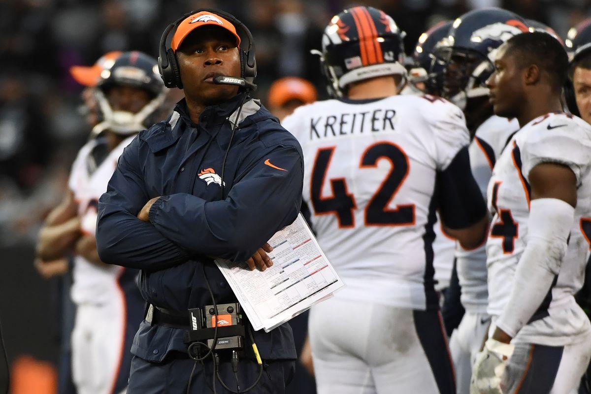 Denver Broncos vs Oakland Raiders