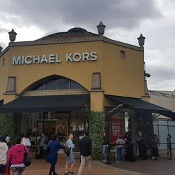 Surprisingly, the longest line was not at Michael Kors.