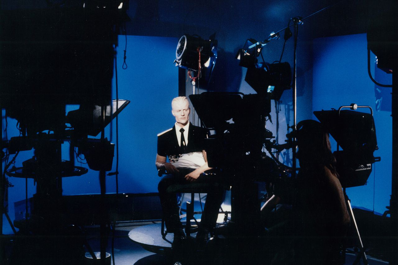 photo essay how make up and visual effects brought max headroom  photo essay how make up and visual effects brought max headroom to life
