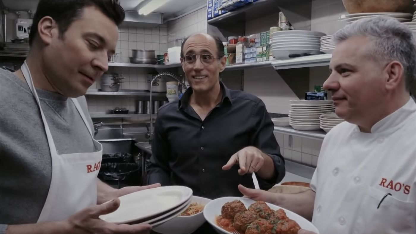 Jimmy Fallon Learns Rao's Meatball Recipe on 'The Tonight Show'