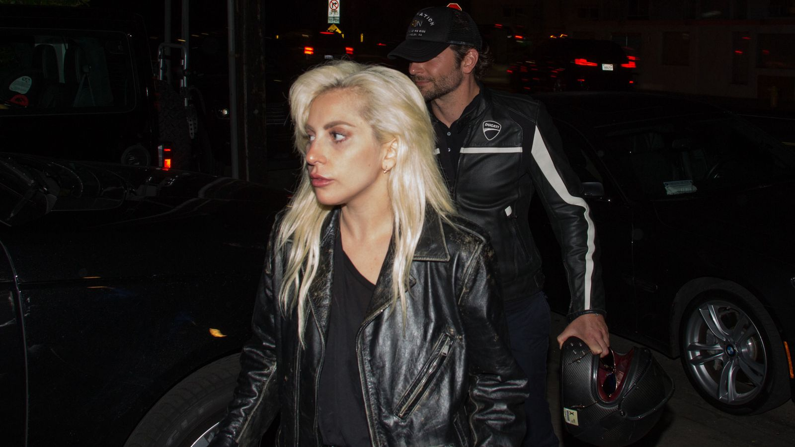The first trailer for A Star Is Born is here! The upcoming movie starring Lady Gaga and Bradley Cooper is set to hit theaters in October and now were