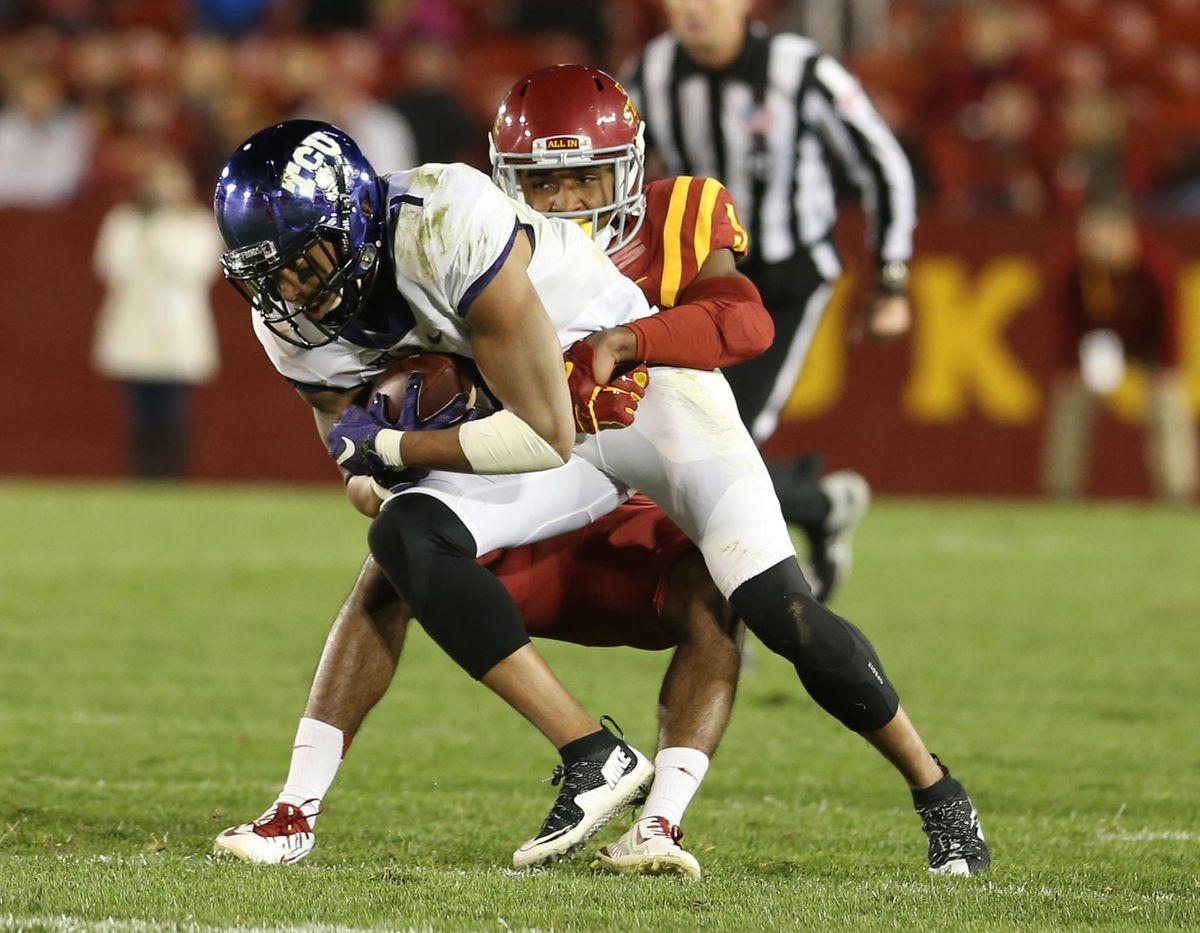 NCAA Football: Texas Christian at Iowa State