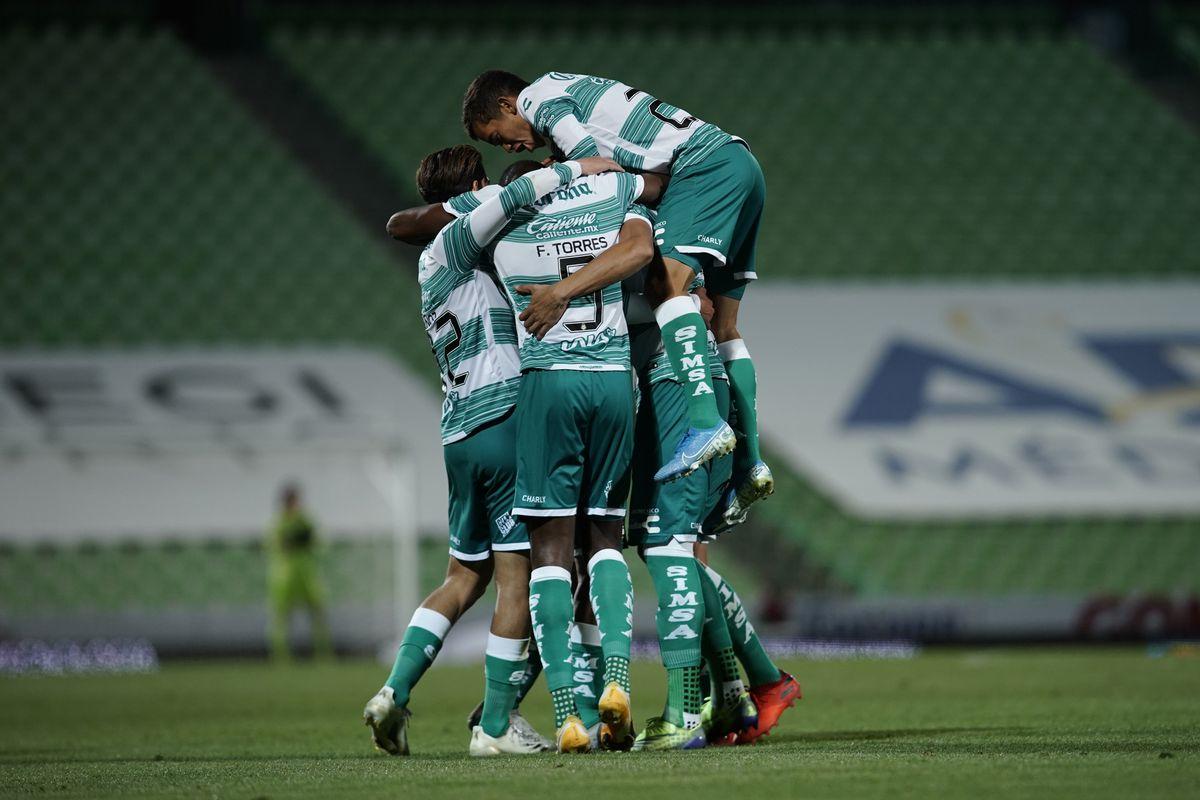 Santos Laguna v Monterrey - Torneo Guard1anes 2021 Liga MX