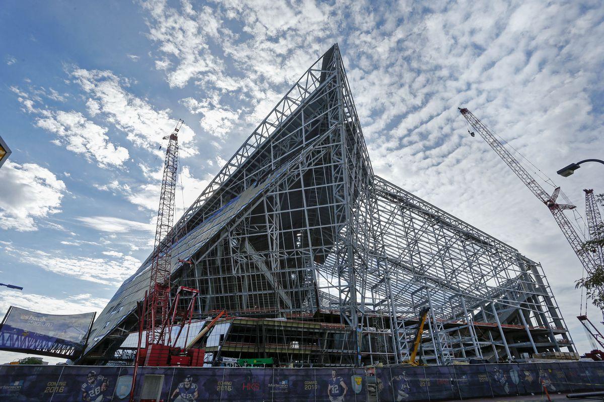 U.S. Bank Stadium, the new home of the Minnesota Vikings
