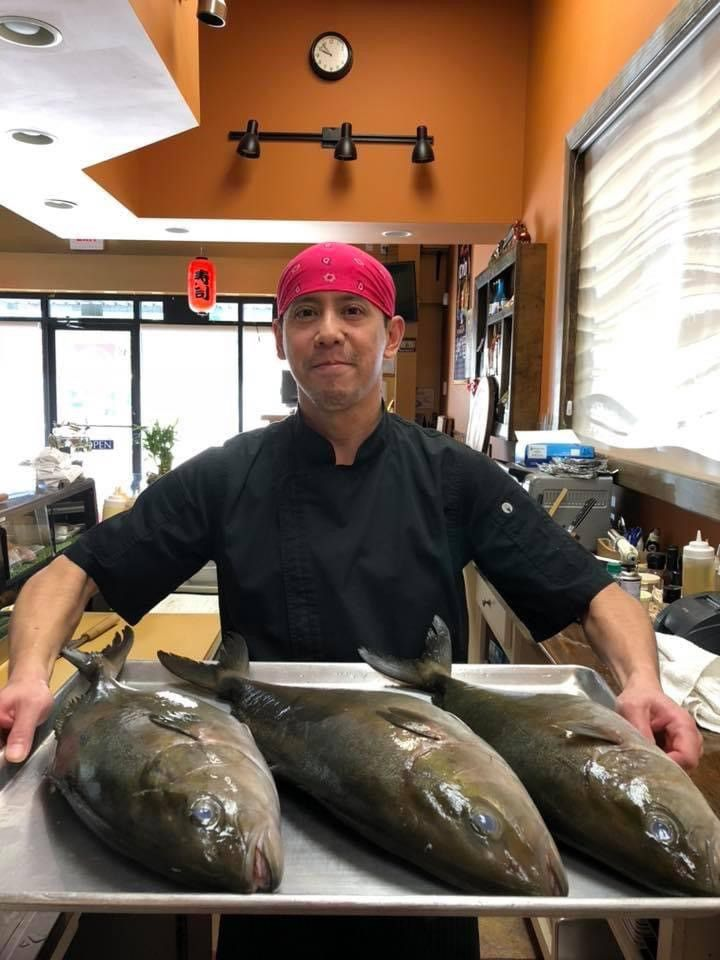 Chef Alvin Dayrit, owner of forthcoming Sensu Sushi opening at Town Center at Trillith in Fayetteville, GA.
