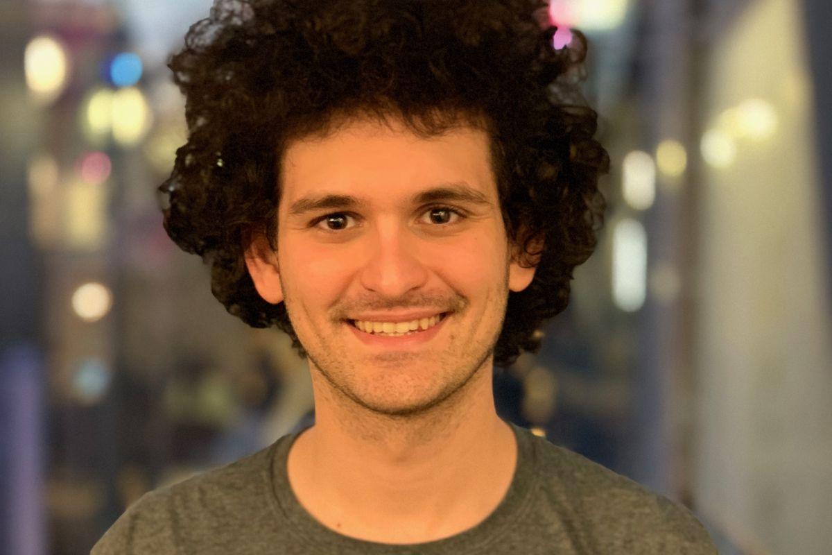 A profile photo of Sam Bankman-Fried.