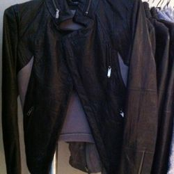 Love this Cut25 leather jacket