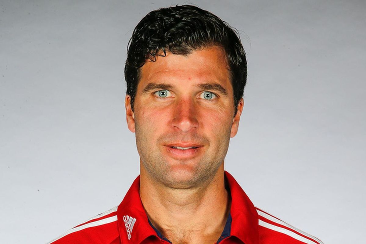 New GK coach Grafer.