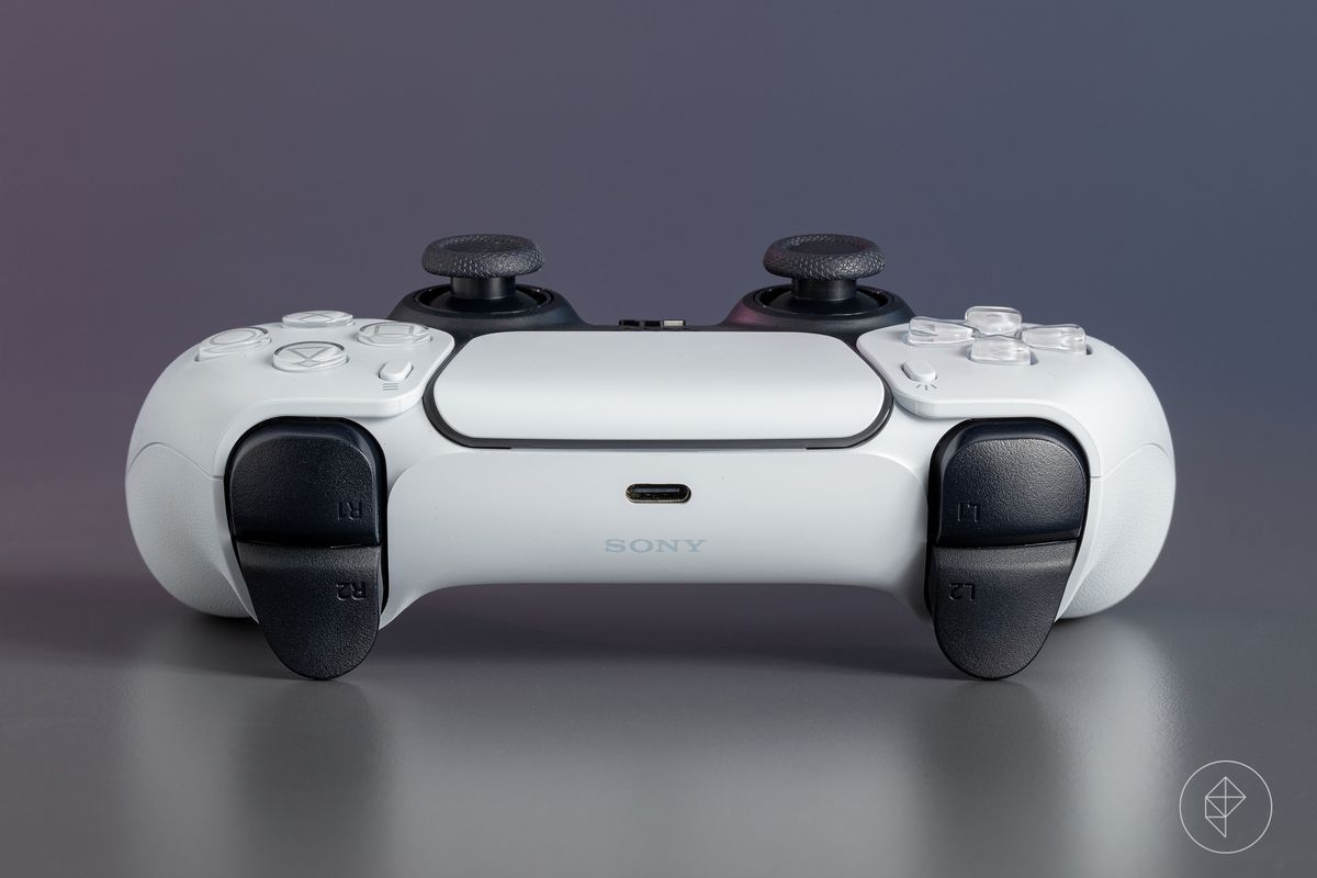 The triggers of the PS5 DualSense controller