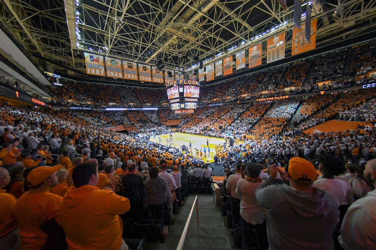 NCAA Basketball: North Carolina at Tennessee