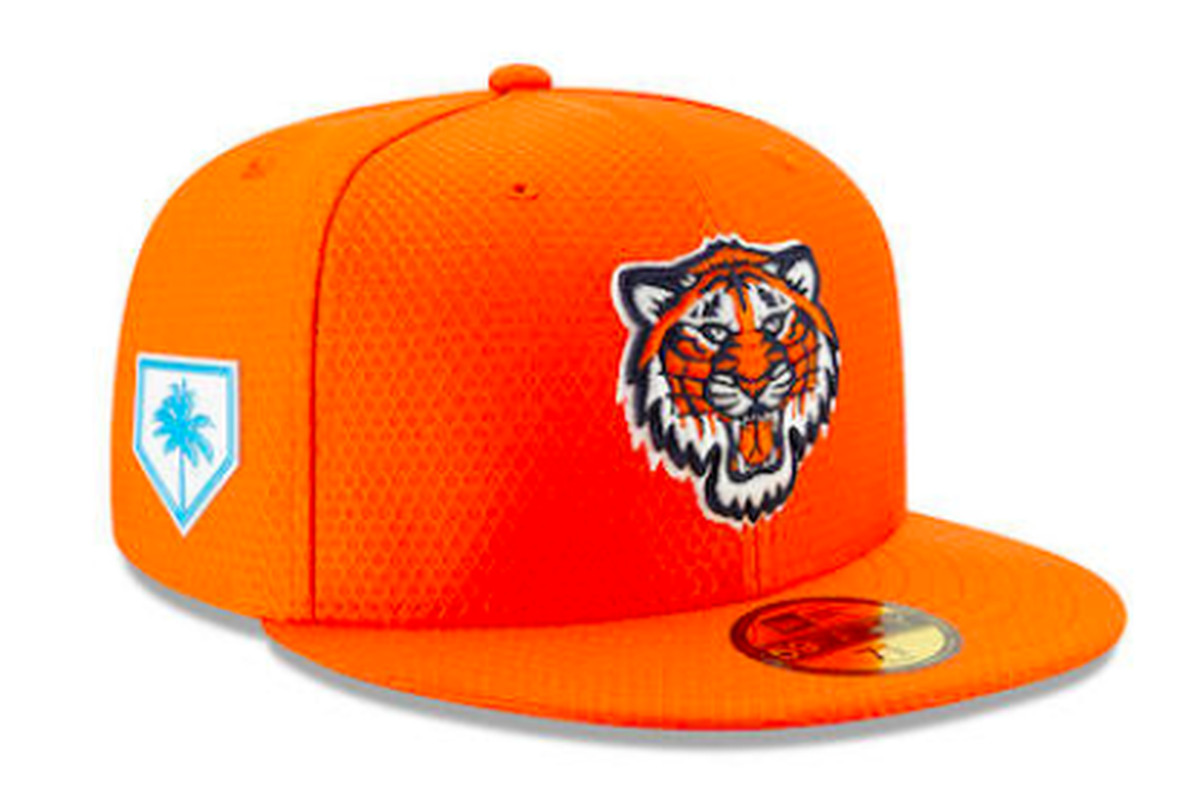 7922bbdd7ef Spring training 2019  The Tigers  caps are better than last year - Bless  You Boys