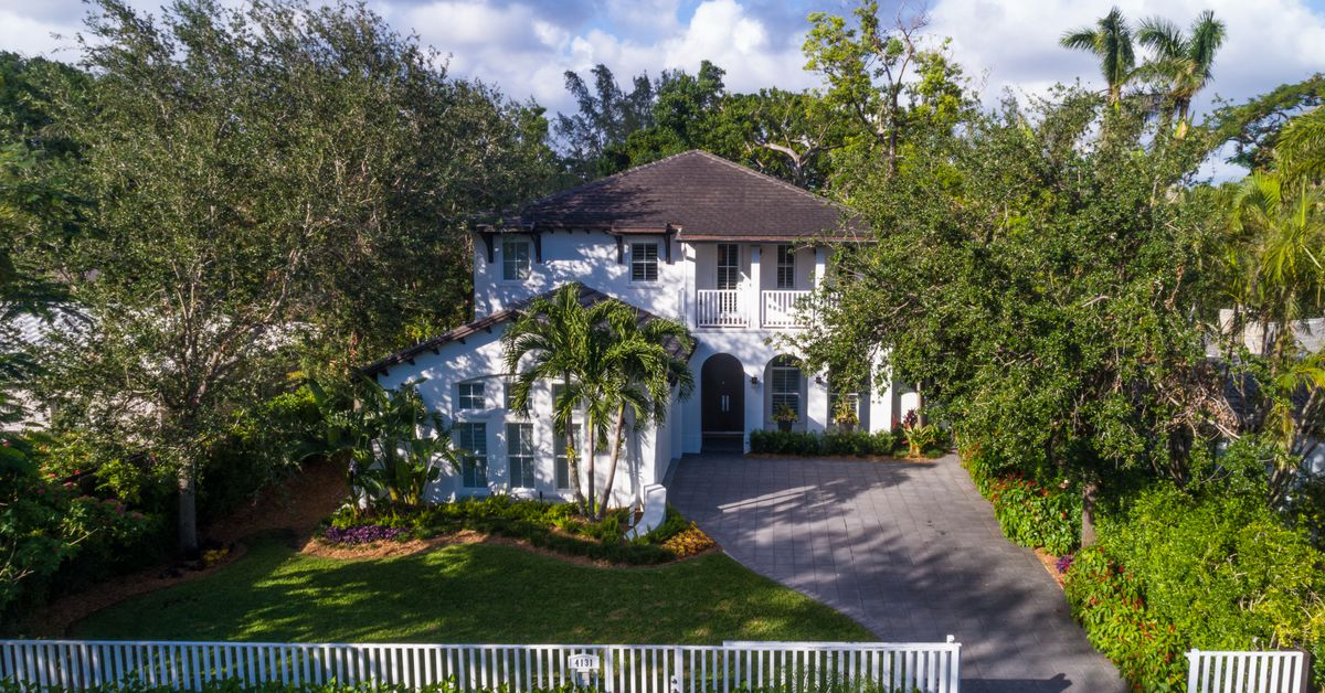 Charming South Coconut Grove Smart Home Sells For 2 35m