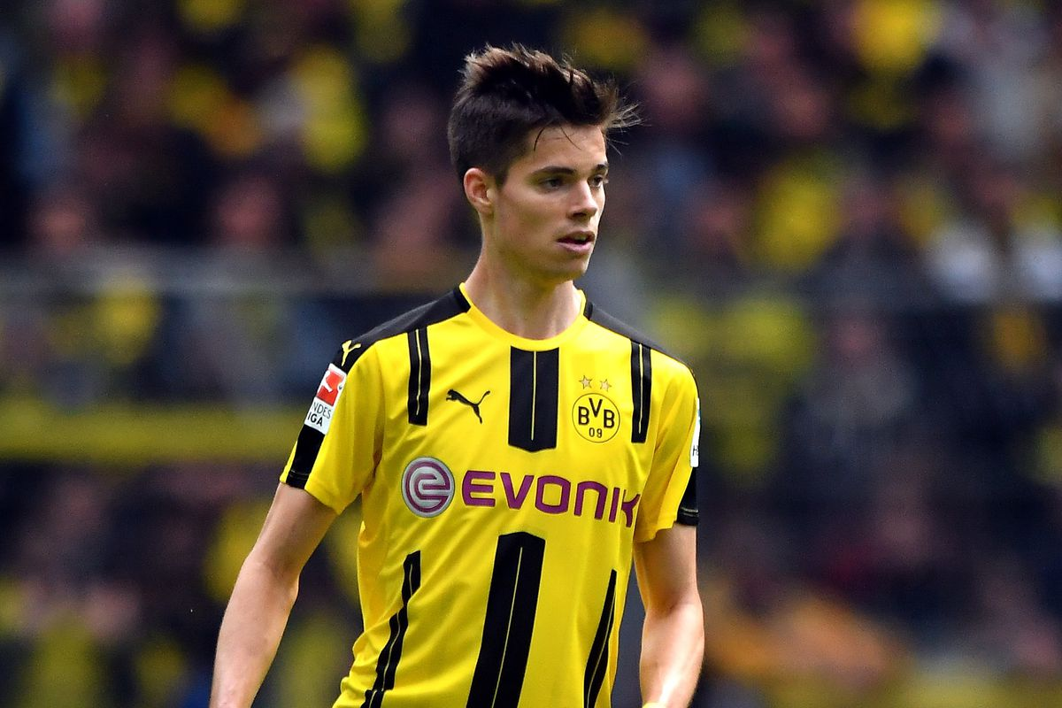 Julian Weigl Makes His German National Team Debut Fear The Wall