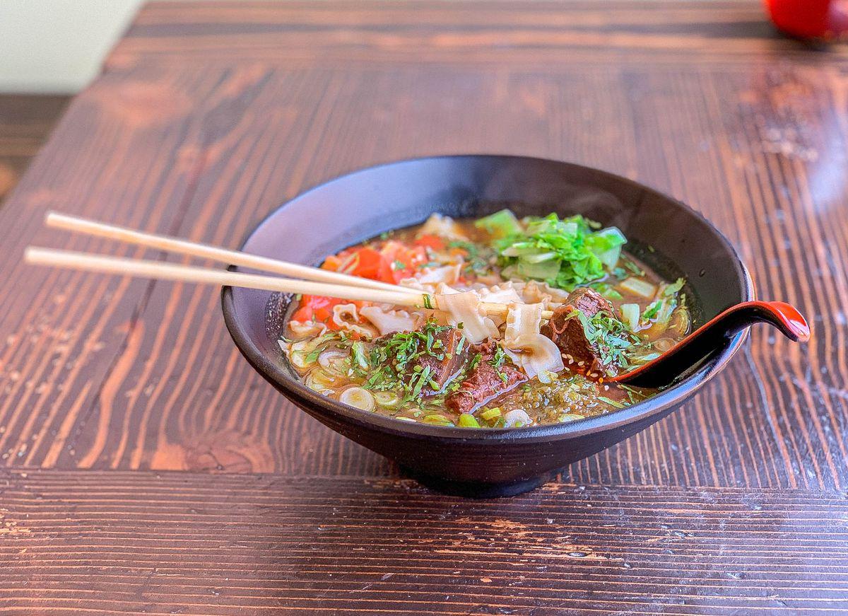 Beef Ban Mien at Lao Tao