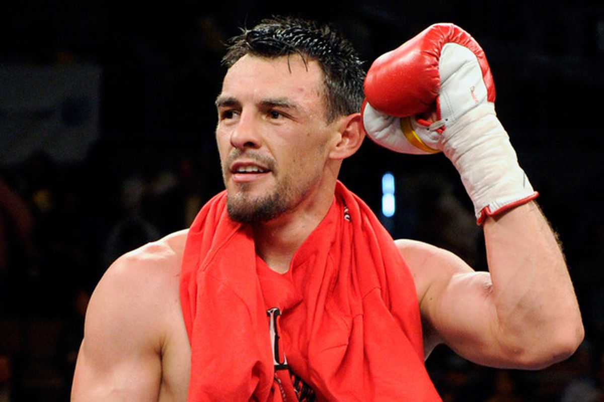 Robert Guerrero is out of his August 27 fight with a shoulder injury. (Photo by Ethan Miller/Getty Images)