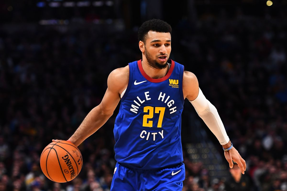 size 40 abbd3 0f6df Watch: Jamal Murray puts up 31 points in Denver Nuggets ...