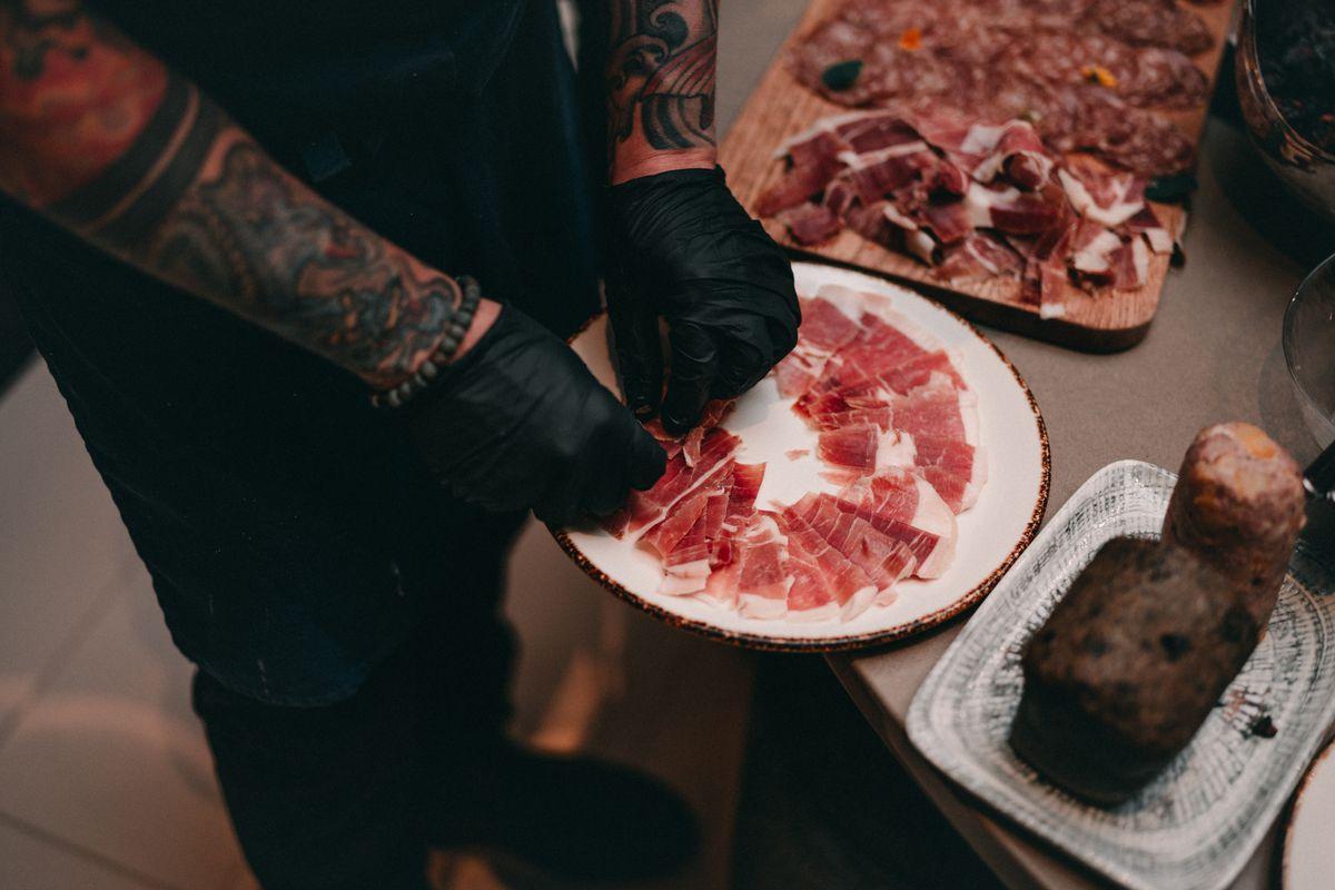 Cinco Jotas iberico ham is available a la carte at Donahue