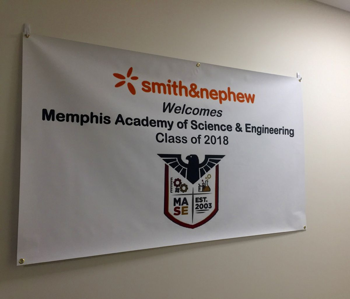 If all goes well during the pilot year, the goal would be to add more seniors to the Smith & Nephew program.