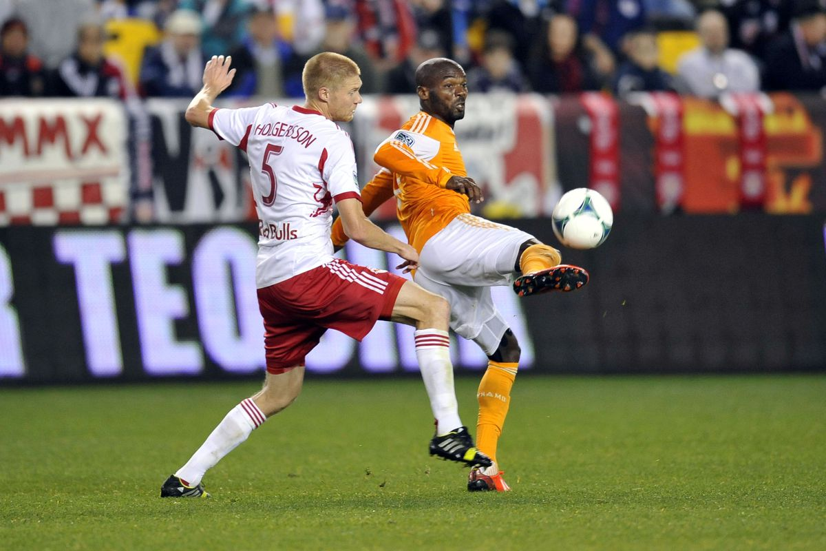 Omar Cummings scored in the 104th minute of second leg of MLS Cup Semifinals. Dynamo won 2-1