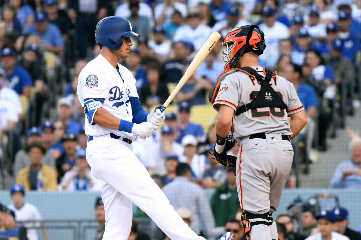 San Franciso Giants  v Los Angeles Dodgers