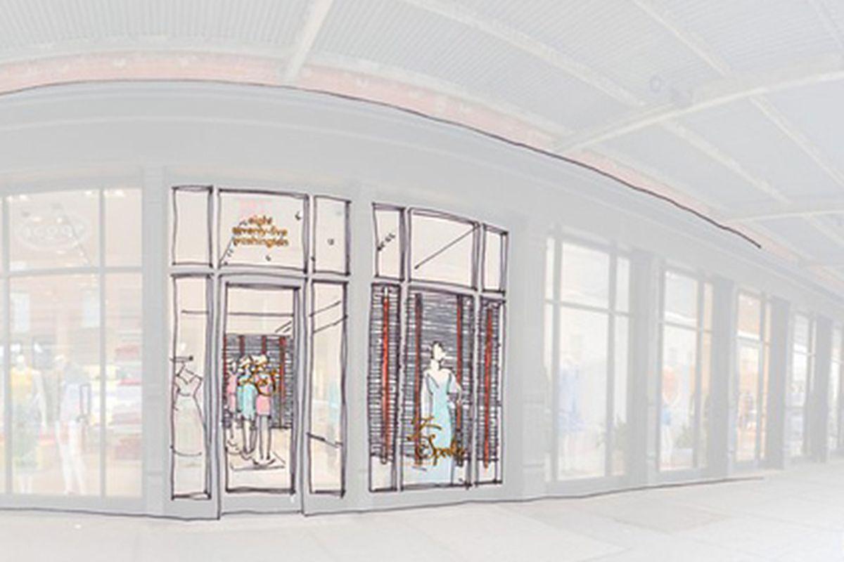 """Z Spoke rendering via <a href=""""http://www.wwd.com/retail-news/designer-luxury/z-spoke-to-open-in-meatpacking-district-5069340?src=rss/retail/20110816&amp;browsets=1313594313917"""">WWD</a>"""