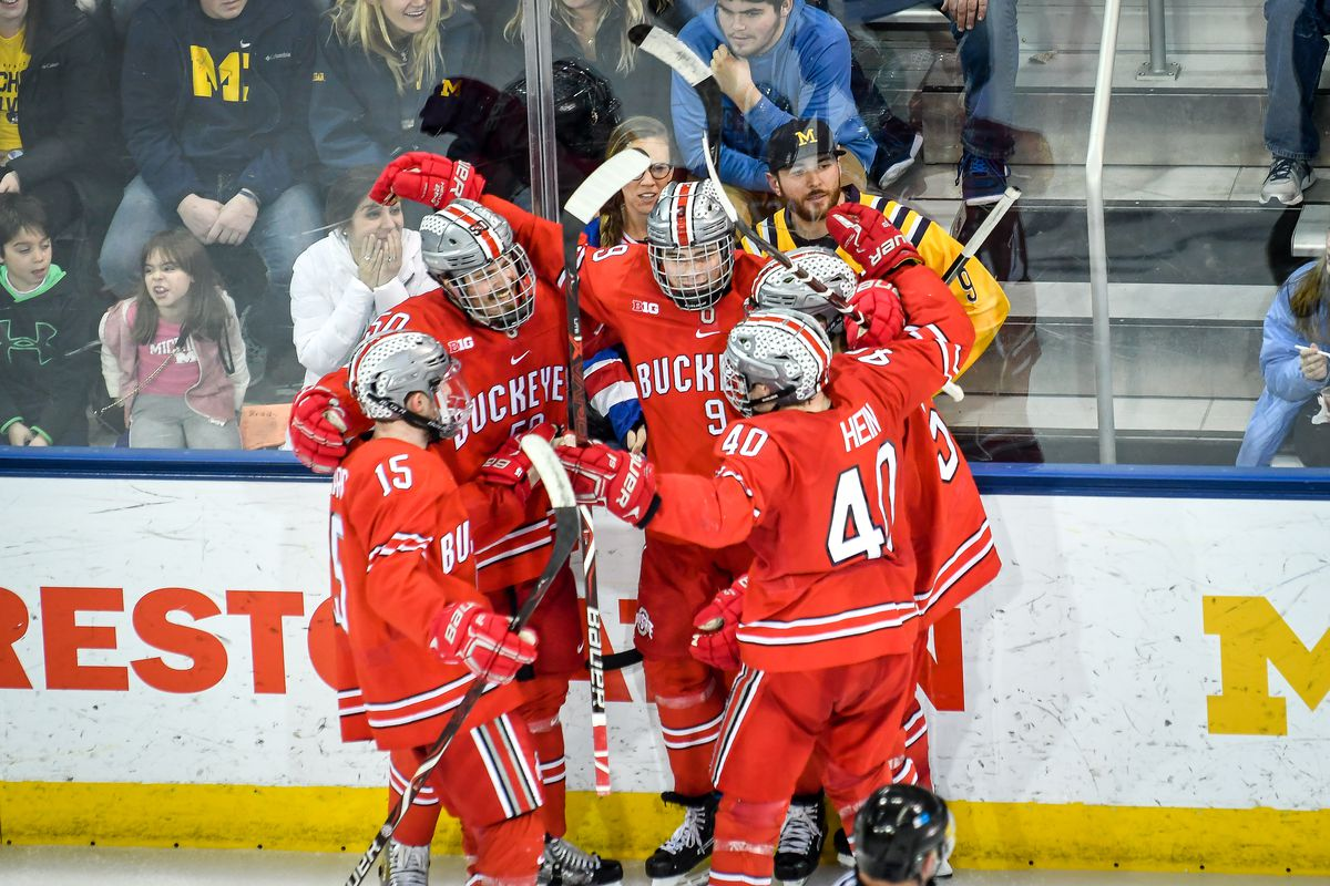 Ohio State heats up the ice with a 1-0-1 opening weekend