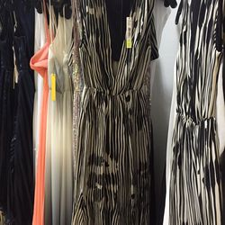 Abstract woodgrain gown, $202 (was $598)