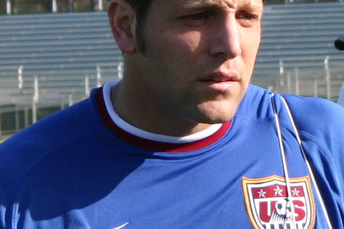 """Tony Meola via <a href=""""http://upload.wikimedia.org/wikipedia/commons/6/6e/TonyMeola_20060410.jpg"""">Wikimedia Commons</a>"""
