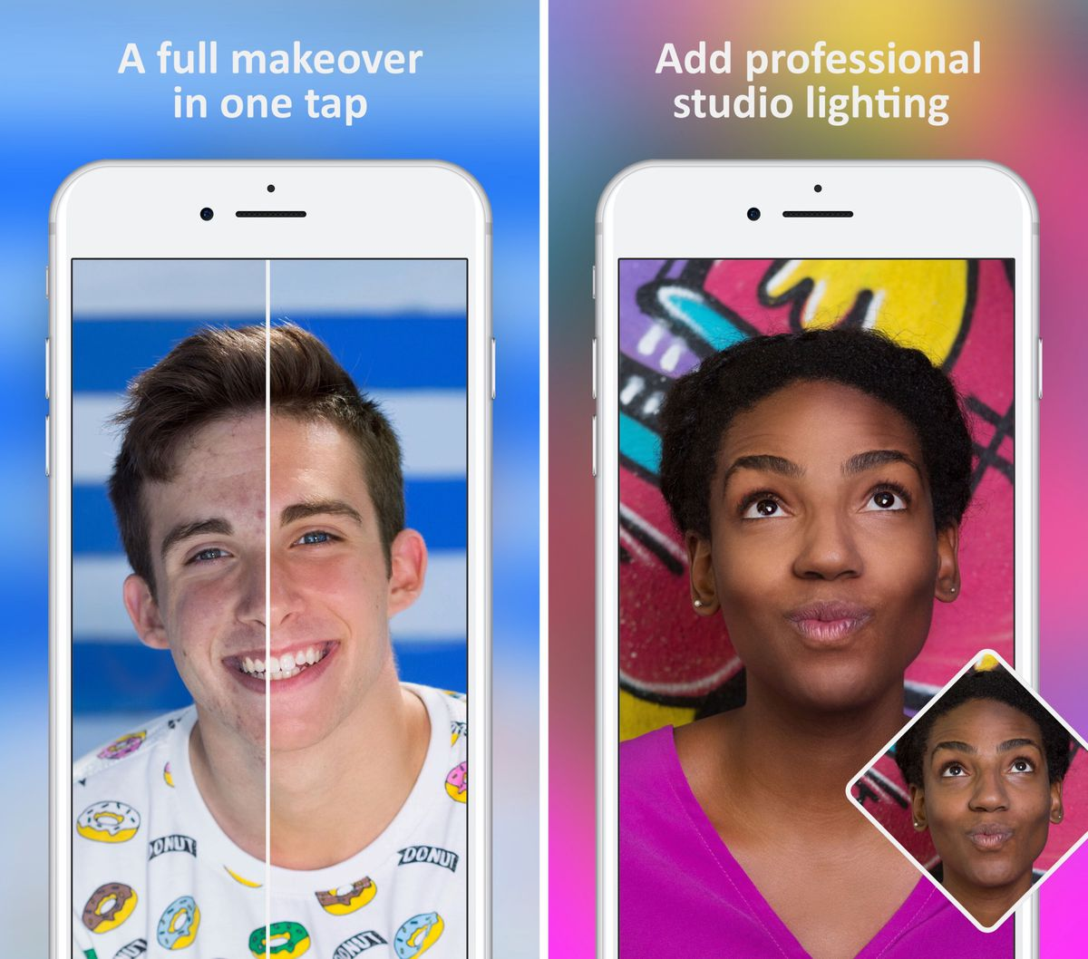 FaceTune 2 puts a powerful selfie studio in your pocket - The Verge