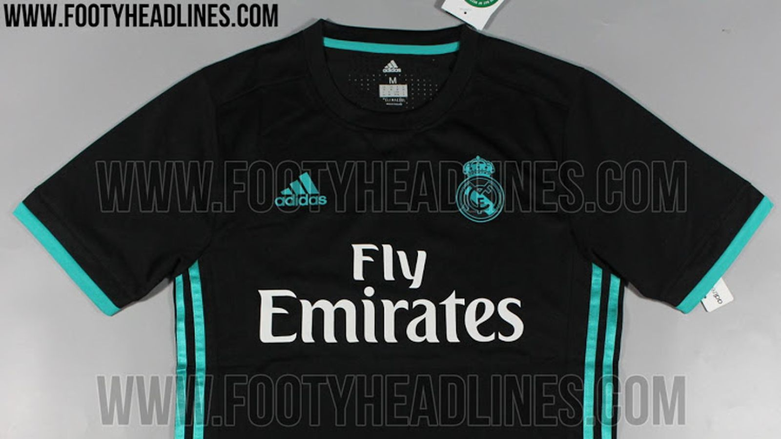 Real Madrid 2017 18 Home Kit Leaked Managing