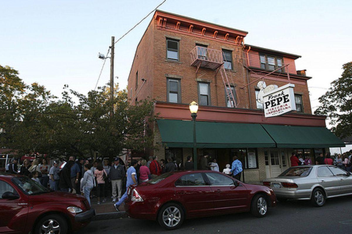 Frank Pepe Pizzeria Napoletana, New Haven, Connecticut.