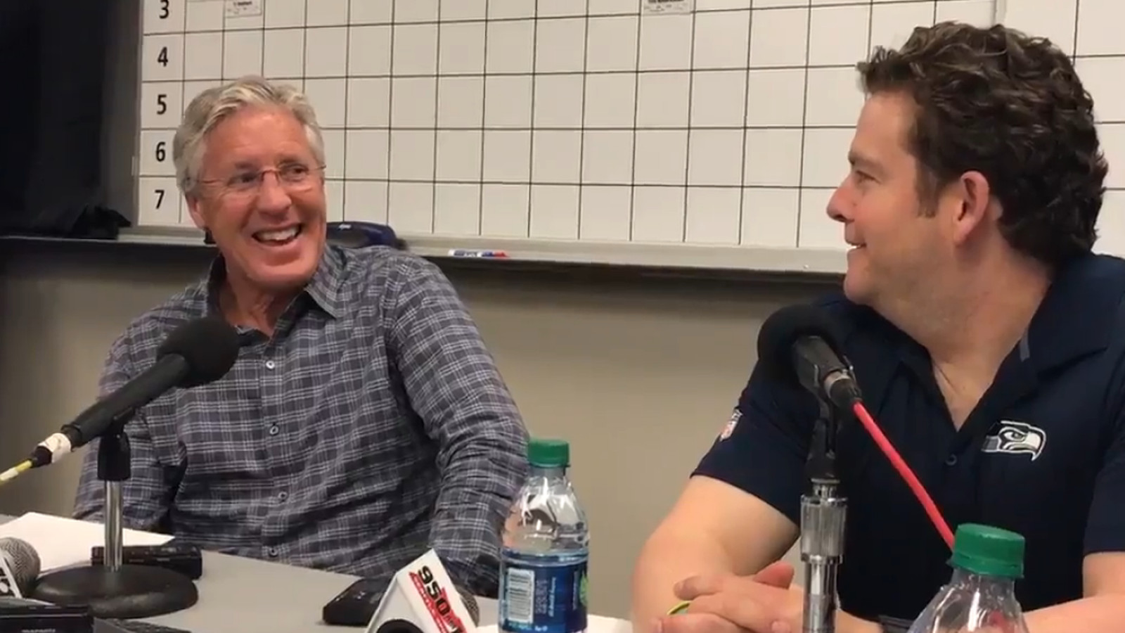 Everyone Cracked Up When Pete Carroll Praised Jim Harbaugh
